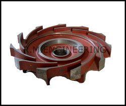 fly wheel impeller casting