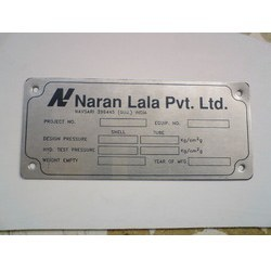 Etching Name Badges