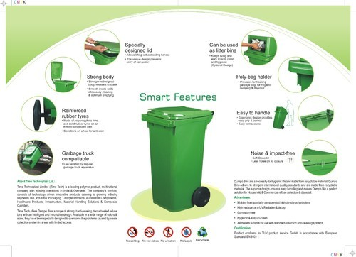 Plastic Drums And Dustbins 120 Ltrs Amp 240 Ltrs Dustbin