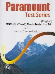 Paramount Test Series SSC GL Tier 1 English
