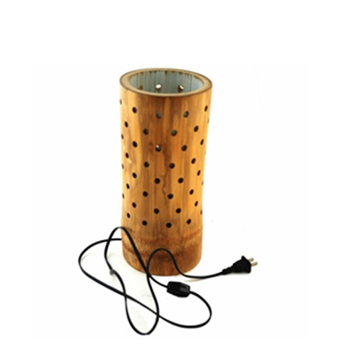 Bamboo lighting bamboo table lamp manufacturer from kolhapur bamboo table lamp aloadofball Image collections
