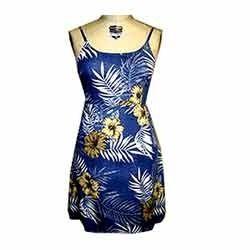 Ladies Printed Party Dress