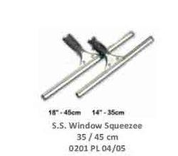 S.S Window Squeegees 35-45 cm