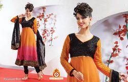 Embroidery Designer Velvet Anarkali Suit