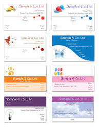 printed business visiting cards