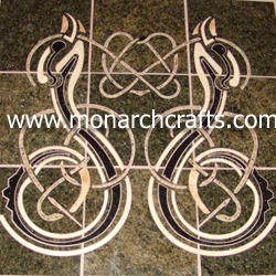 handmade marble tiles