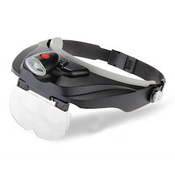 Kawachi 4 Lens Hands Free Head Magnifying Glass Magnifier