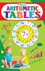 Arithmetic Tables Children Book