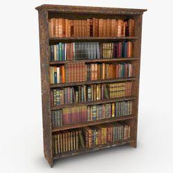 Antique Bookshelf In Jodhpur Rajasthan