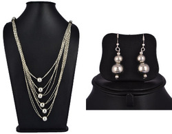 Long Chain Necklace Set