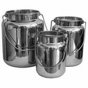 Steel Buckets with Lid