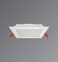 diva square recessed down light