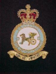 R.A.F. 1 SQN. Regiment Blazer Badge