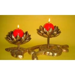 2 Flower Candle Stand ( CS RHF - 01 )