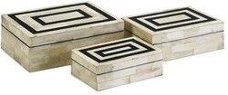 Decorated Bone Handicraft Boxes