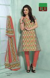 Cotton Dress Material