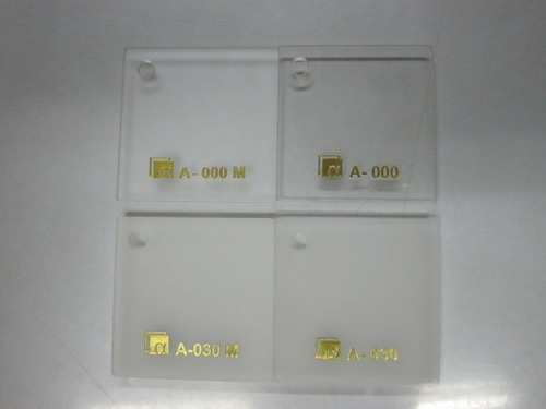 Clear Matt Acrylic Sheets