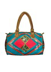 Embroidered Satchal Bag