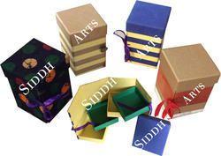 handmade paper jewelry box