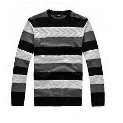Men's Knitted Sweat T-Shirt