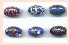 Oval Glass Beads SFB-13