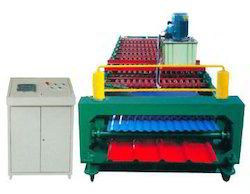Double Layer Color Steel Roof Panel Roll Forming Machine