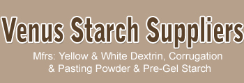 Venus Starch Suppliers