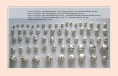 Brass Metal Beads CODE : MBC-08