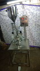 Semi Automatic Cup Filling Selling Machine