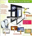 multi point touch screens
