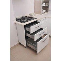 Modern Stainless Steel Modular Kitchen