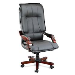 executive chairs high back black leather executive chair