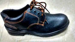 leather safety shoes pu soles