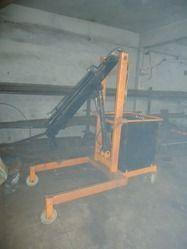 electric battery floor crane