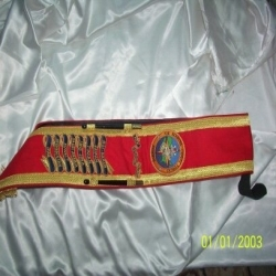 Colour Sashes