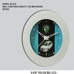 Wall Cum Table Beauty Clock