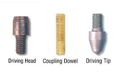 Solid Copper Grounding Rod Accessories