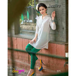 Fancy White Kurti