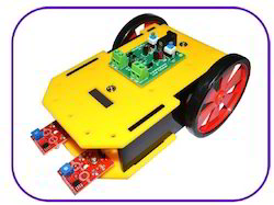 Transistorized Line follower Robot