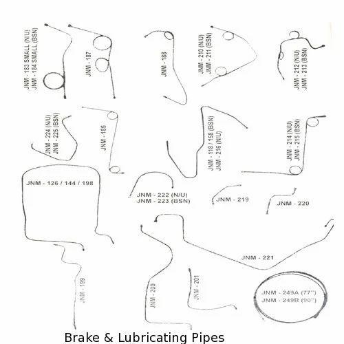 Brake & Lubricating Pipes