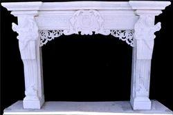 Makrana Marble Fireplace