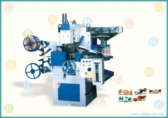 Automatic Double Twist Candy Wrapping Machine