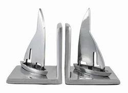 Metal Bookend Pair