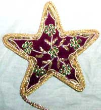 Zari Christmas Decoration Ornaments