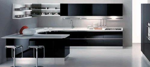 Italian Modern Modular Kitchen, Modular Kitchen | Alwarpet ...