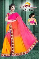 Multi Colour Party Wear Saree