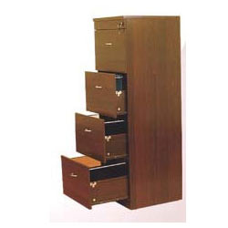 Locking Wooden Storage