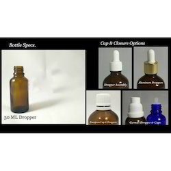 30 Ml Amber Dropper Bottles