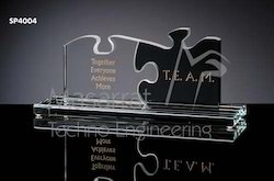 Acrylic Puzzle Trophy