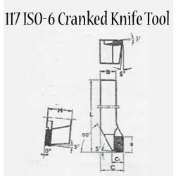 Cranked Knife Tools